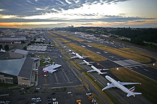 Airplane Lineup