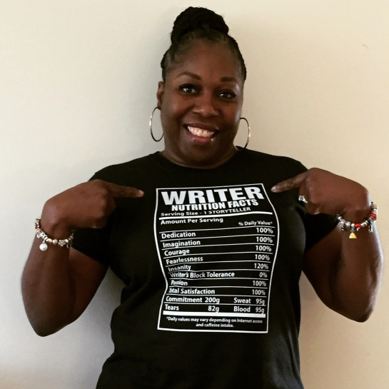 Writer Tshirt Pointing