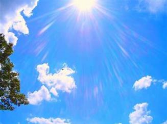 BRIGHT SUNNY SKY